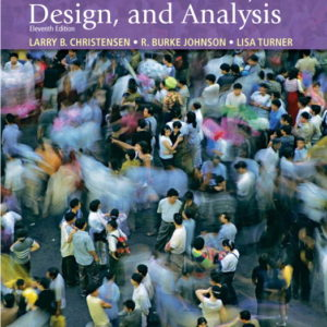 Buy: Test Bank for Research Methods Design and Analysis 11e Christensen