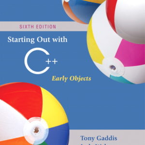 Buy: Test Bank for Starting Out with C++: Early Objects
