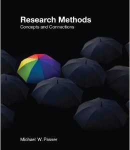Buy: Test Bank for Research Methods Concepts and Connections