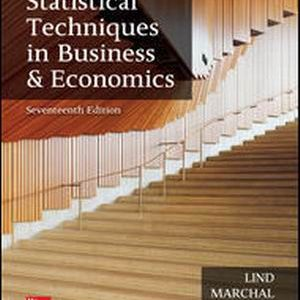 Buy: Test Bank for Statistical Techniques in Business and Economics 17e By Lind