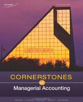 Buy: Test Bank for Cornerstones of Managerial Accounting