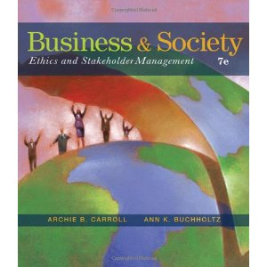 Buy: Test Bank for Business and Society Ethics and Stakeholder Management