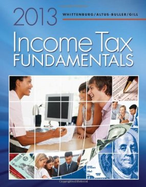 Buy: Test Bank for Income Tax Fundamentals 2013