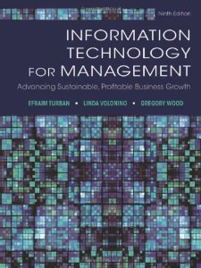 Buy: Test Bank for Information Technology for Management Advancing Sustainable