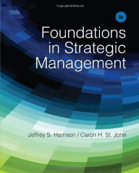 Buy: Test Bank for Foundations in Strategic Management