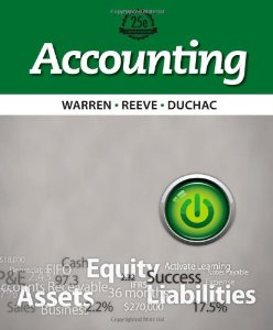 Test Bank for Accounting, 25th Edition, Carl S Warren, ISBN-10: 1133607608, ISBN-13: 9781133607601