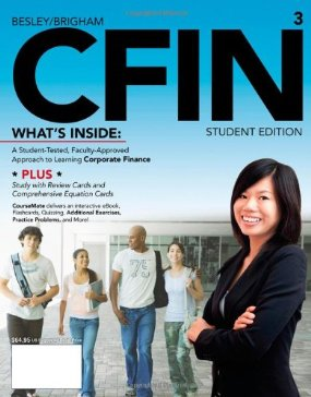 Buy: Test Bank for CFIN 3