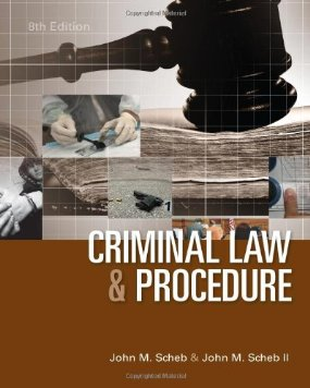 Buy: Test Bank for Criminal Law and Procedure