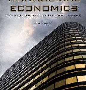 Solution Manual forManagerial Economics: Theory