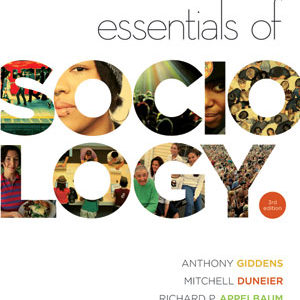 Solution Manual forEssentials of Sociology