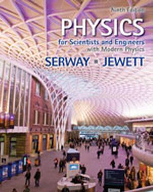 Buy: Test Bank for Physics for Scientists and Engineers with Modern Physics 9e Serway