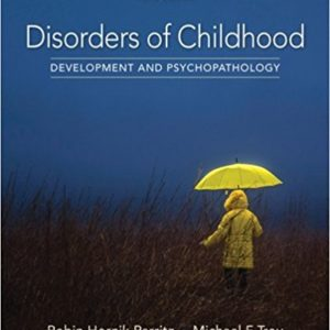 Buy: Test Bank for Disorders of Childhood: Development and Psychopathology 3e by Parritz