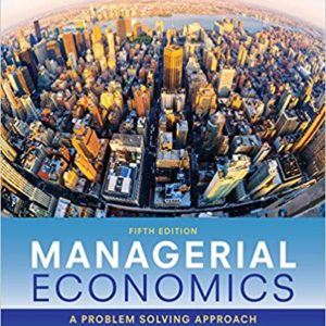 Solution Manual for Managerial Economics 5e Froeb