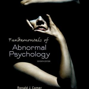Buy: Test Bank for Fundamentals of Abnormal Psychology
