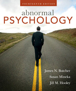 Test Bank for Abnormal Psychology, 14th Edition, Butcher, ISBN-10: 0205594956, ISBN-13: 9780205594955