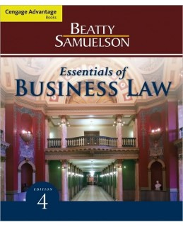 Buy: Test Bank for Essentials of Business Law