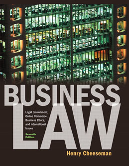 Buy: Test Bank for Business Law