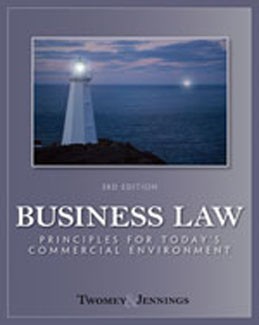 Buy: Test Bank for Business Law Principles for Todays Commercial Environment