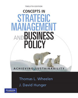 Buy: Test Bank for Concepts in Strategic Management and Business Policy