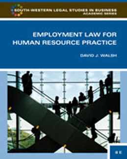 Buy: Test Bank for Employment Law for Human Resource Practice