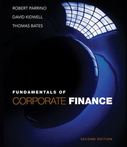 Buy: Test Bank for Fundamentals of Corporate Finance