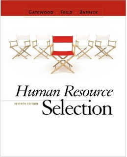 Buy: Test Bank for Human Resource Selection