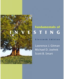 Buy: Test Bank for Fundamentals of Investing