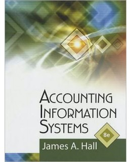Test Bank for Accounting Information Systems, 8th Edition, James A. Hall, ISBN-10: 1111972141, ISBN-13: 9781111972141