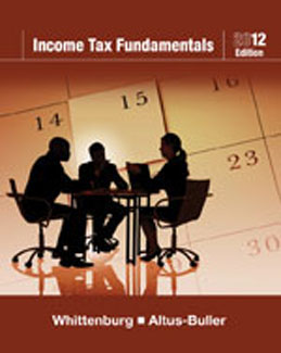 Buy: Test Bank for Income Tax Fundamentals 2012