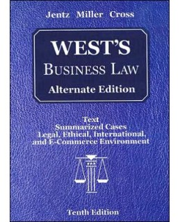 Buy: Test Bank for West's Business Law