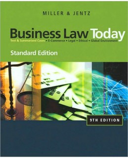 Buy: Test Bank for Business Law Today