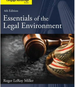 Buy: Test Bank for Essentials of the Legal Environment