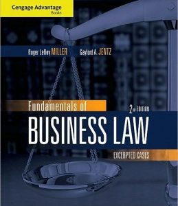 Buy: Test Bank for Fundamentals of Business Law