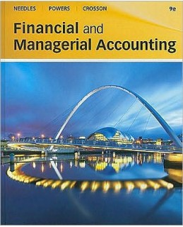 Buy: Test Bank for Financial and Managerial Accounting