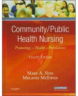 Buy: Test Bank for Community/Public Health Nursing 4/e Nies
