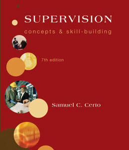 Buy: Test Bank for Supervision Concepts and Skill Building
