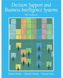 Buy: Test Bank for Decision Support and Business Intelligence Systems