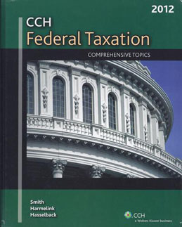 Buy: Test Bank for CCH Federal Taxation Comprehensive Topics 2012