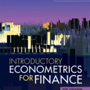 Test Bank for Introductory Econometrics for Finance 4/E Brooks