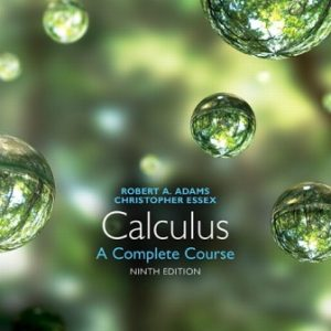 Test Bank for Calculus: A Complete Course 9/E Adams
