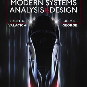 Solution Manual for Modern Systems Analysis and Design 9/E Valacich
