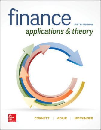 Solution Manual for Finance: Applications and Theory 5/E Cornett