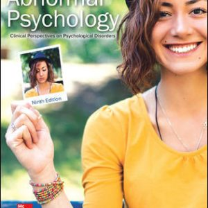 Test Bank for Abnormal Psychology: Clinical Perspectives on Psychological Disorders 9/E Krauss