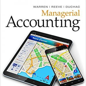 Test bank for Managerial Accounting 14th Edition Warren