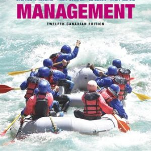 Test Bank for Management 12th Canadian Edition Stephen P. Robbins