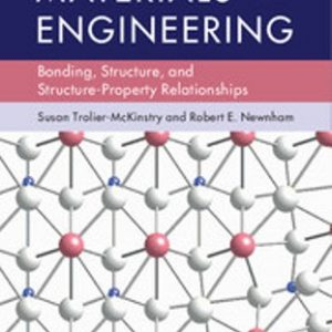 Solution Manual for Materials Engineering Bonding, Structure, and Structure-Property Relationships 1/E Trolier-McKinstry