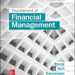 Test Bank for Foundations of Financial Management 16/E Block