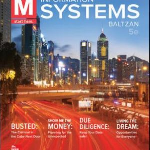 Test Bank for M: Information Systems 5th Edition Paige Baltzan