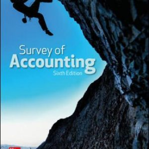 Solution Manual for Survey of Accounting 6/E Edmonds