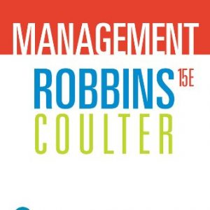Test Bank for Management 15/E Robbins